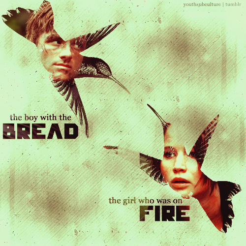 The boy with the bread & The girl who was on fire - Peeta Mellark & Katniss Everdeen