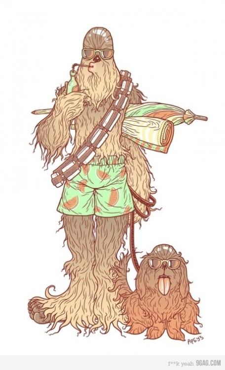 I feel like a wookie would be more suited to a ferocious animal as a pet.