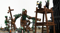 The Battle of Isengard from Lord of the Rings, depicted in 22,000 LEGO bricks [This Is Awesome]