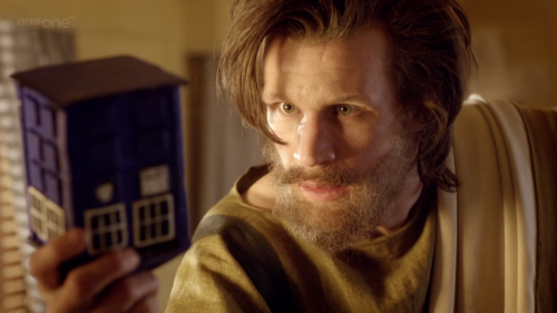 wordsareshadows:  The Doctor:A madman with a box.
