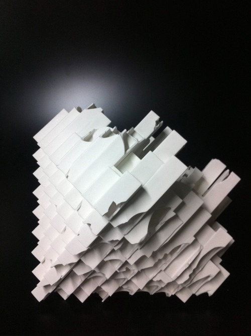 "Takeuchi Kouzo: Modern Remains, 2010, Glazed porcelain, 17"" x 18"" x 17"" / Keiko Gallery - Japanese artists"