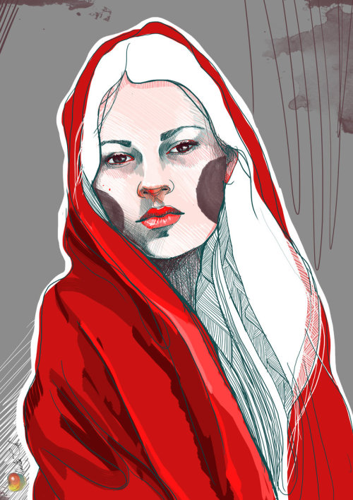 marysoul:    Red Riding Hood by *Nadia*