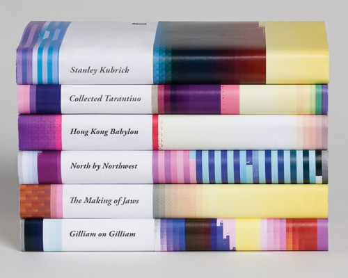 "prostheticknowledge:  Glitched Book Cover Designs via new-aesthetic Student enters design competition with book covers intentionally glitched:  ""Design student Michael Kosmicki created this series of covers as an entry in the 2009 D&AD Student Awards competition.   They're based on the concept of intentionally producing a visual glitch  using ""an algorithm that translates the title and section into a  distinct graphic pattern."""" (via)"