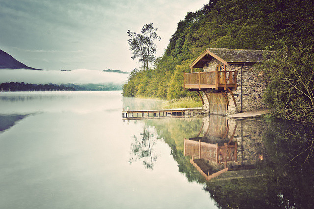 The Boathouse by HeyshamWhite on Flickr.Paradise?