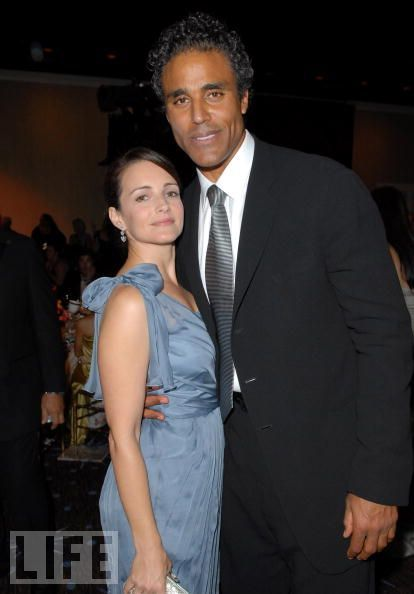 Kristin Davis and Rick Fox.