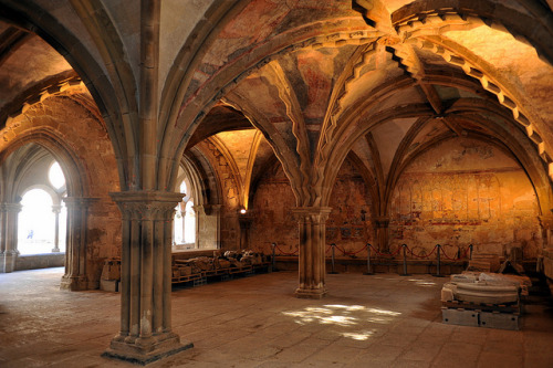 medievallove:  Chapter house of Saint-Martin-de-Tulle monastery, Corrèze, France. 10th c. by Philippe_28 on Flickr.