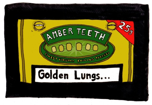 Amber Teeth, Golden Lungs