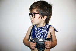 fuckyahindieboys:  hipster in training..  LOL, cuuuuute