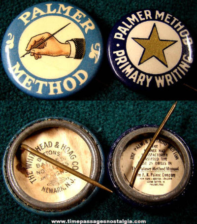 Show your penmanship pride with these vintage Palmer Method badges. $24.99 (via Times Passage Nostalgia Co. )