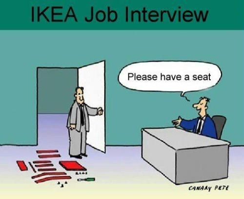 bookalicious:  Ikea job interview…