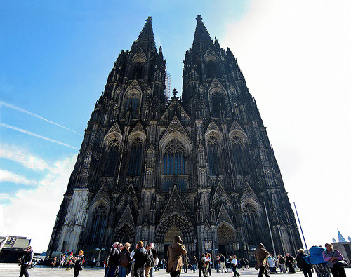 Cologne Cathedral, Germany (by Dred Mannekin)
