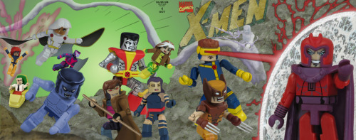X-Men #1 ala Mini Mates