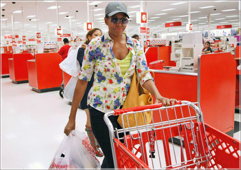 I LOVE Michelle! The First Lady shops at Target just like us LOL! I wonder if she calls it Targe' like I do? LOL