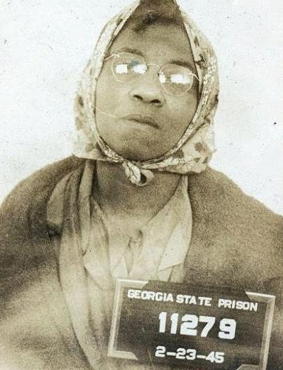 "Lena Baker: The Only Woman Executed by Electrocution In Georgia  ""What I done, I did in self-defense, or I would have been killed myself. Where I was I could not overcome it. God has forgiven me. I have nothing against anyone. I picked cotton for Mr. Pritchett, and he has been good to me. I am ready to go. I am one in the number. I am ready to meet my God. I have a very strong conscience."""
