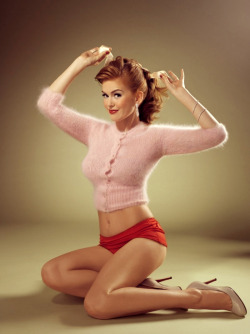 Isla Fisher - Vanity Fair Vanities by Michael Elins, November 2006
