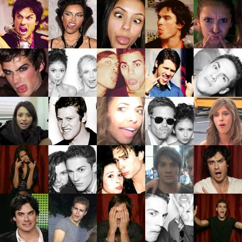1407graymalkinlane:  I can't choose what face I love more hahaha