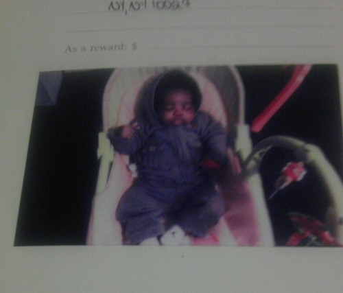 I put a pic of my nephew on the first page of my rhyme book, so I'm never worried about inspiration