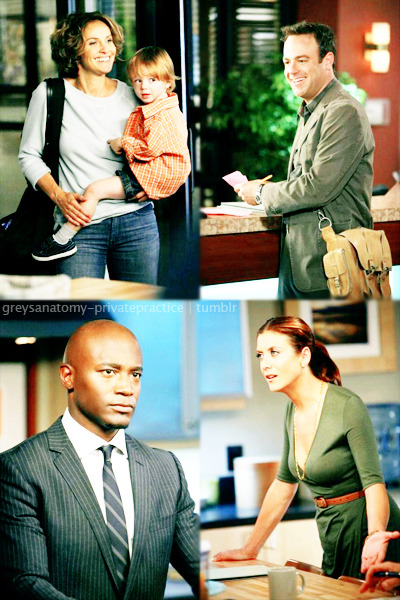 Private Practice, 5x03 Deal with It