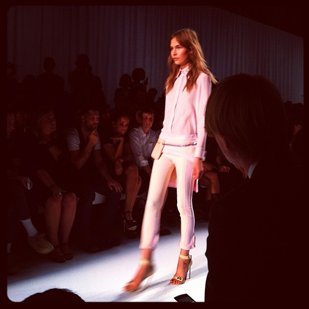 Some all pink Givenchy #pfw