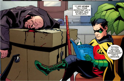 iamlingy:  thebatmanfanatic:  Oh, Damian, how I love you so.  Damian you are just too precious.  THAT'S OBSCENE.