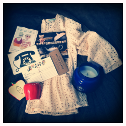 Things bought in Harvard Sq, 10.2.11