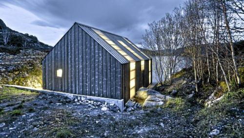 Norwegian boathouse