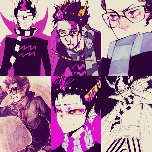 pikachu-diamonds:    Six Pictures   →Eridan Ampora