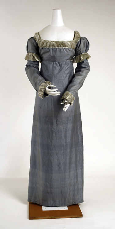 Dress, 1810-15 US, the Met Museum