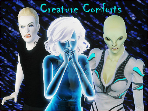 simsforsale:Next challenge for October: Creature ComfortsThis is a rather broad challenge in celebration of October and Halloween. You can read more about Sims for Sale