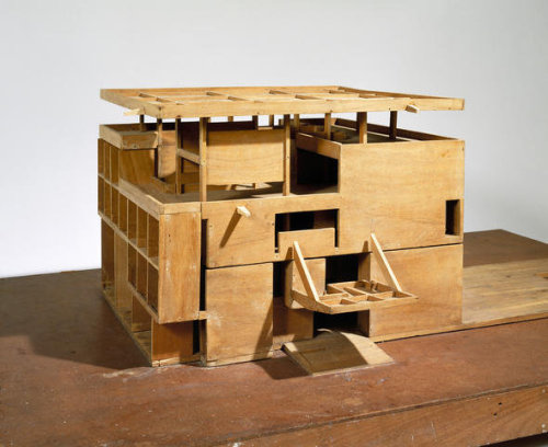 © le corbusier - villa chimanbhai (unexecuted) - 1956