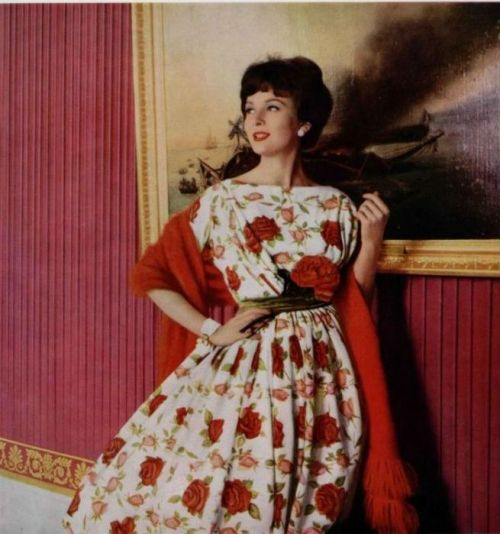 Gres Gown - 1959 L'Officiel De La Mode - 445-446