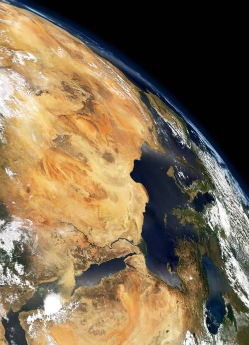 Northern Africa from Space |