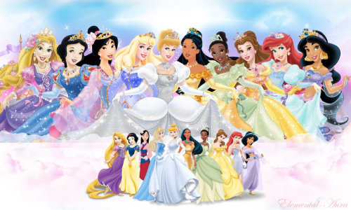 The 10 Princesses of Disney's official line.