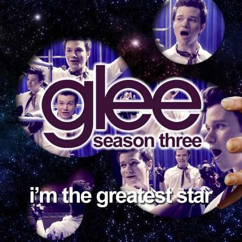 legleekcestchic:    Alternative Album Art - Season 3 - Glee I'm The Greatest Star FULLSIZE on DA (800 x 800 px) Right Click on a song —> Get info —> 'Artwork' tab —> Copy and paste this artwork! —> More Album art! <—  *updated with fullsize link on Deviant art