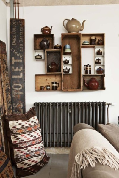 Boho interior design. Swoon.