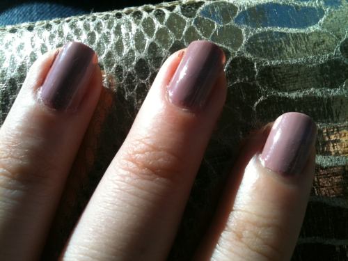 Sunday, October 2, 2011 - essie's lady like