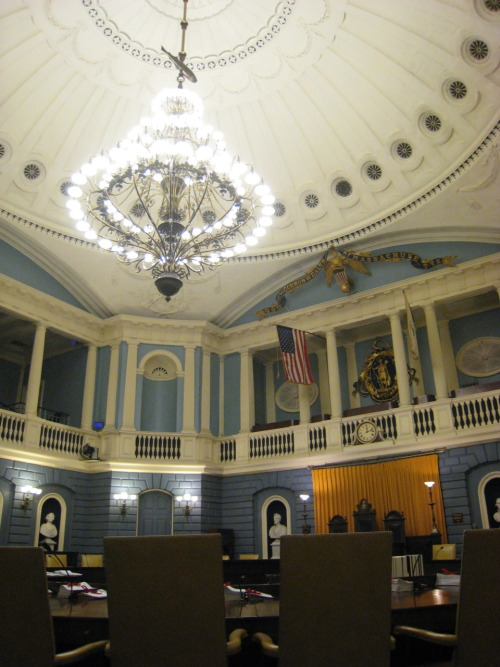 Senate Chambers, Massachusetts State House