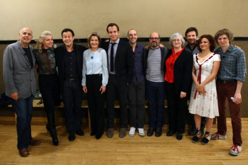 thebluthcompany:  Mitch Hurwitz and the cast of Arrested Development at the New Yorker Festival.