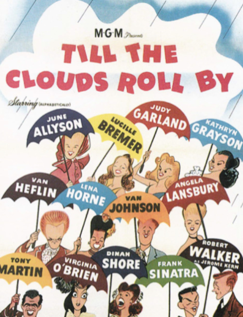 missshowbusiness:  Hirschfeld's Till the Clouds Roll By