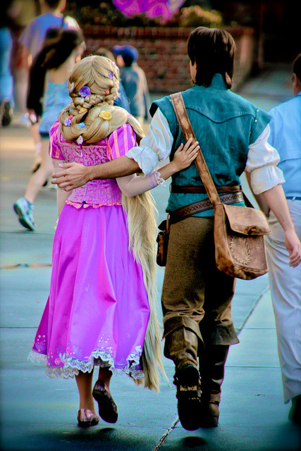 Rapunzel and Flynn Rider by abelle2 on Flickr.