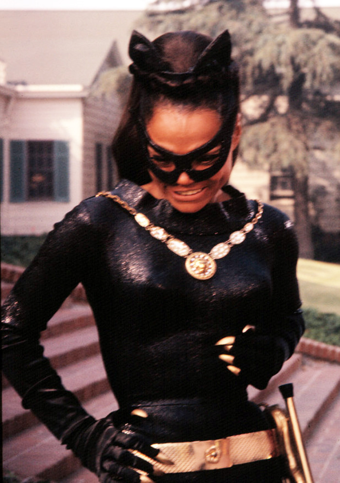 generalbriefing:  thelingerieaddict:  vintagegal:  Eartha Kitt as Catwoman 1960's  Yes.  purrrrrrfect
