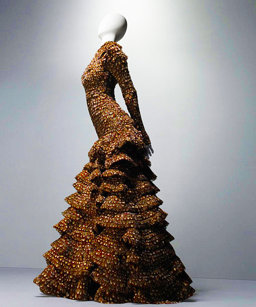 Alexander McQueen | Pheasant Feather Dress