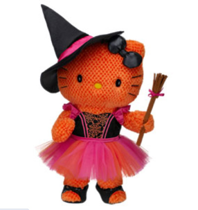 hello-kitty:  Halloween Witch Orange Hello Kitty® by Sanrio®