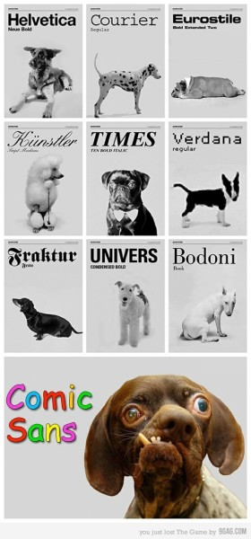 Animal font types.