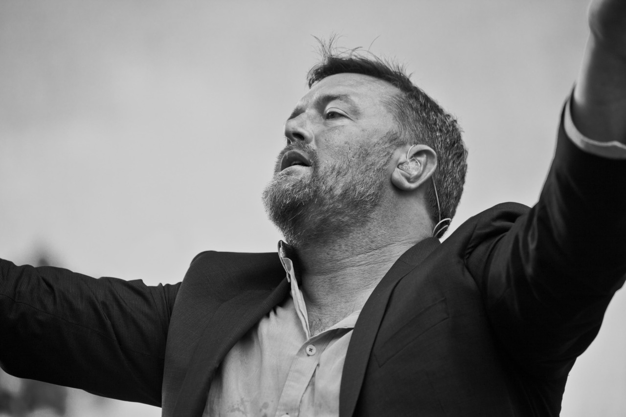 Guy Garvey, Elbow. Golden Gate Park, San Francisco. Hardly Strictly Bluegrass Festival.