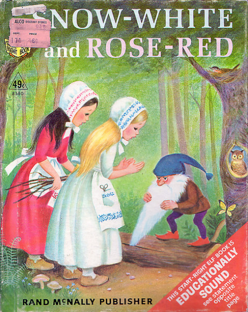 Snow-White and Rose-Red cover by Marjorie Cooper (1967)