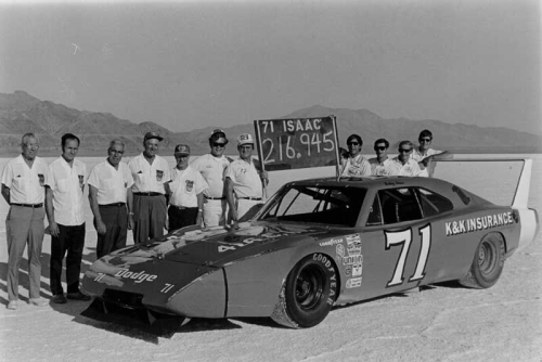 Dodge Charger Daytona at Bonneville