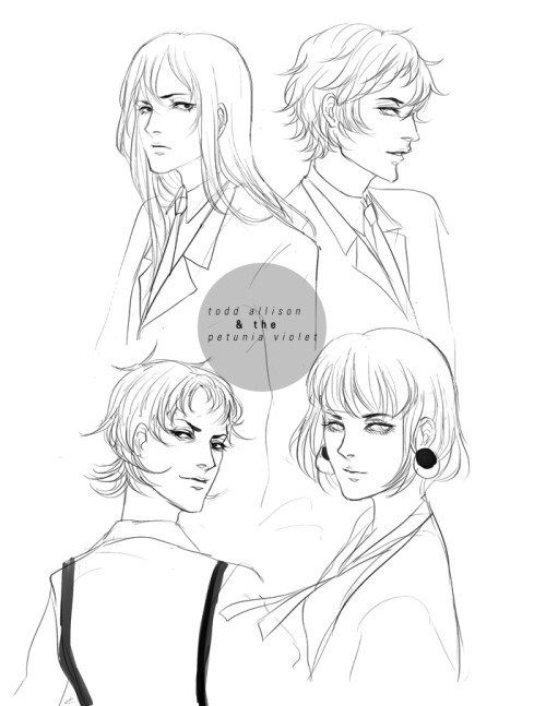 some various (messy) sketches of Nozmo's characters from her webcomic! I really love her characters, and the story is worth a read. I've wanted to draw them for a while…