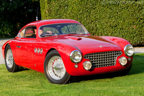 Abarth 205 Vignale Berlinetta (1950) Read all about this fine piece over here.