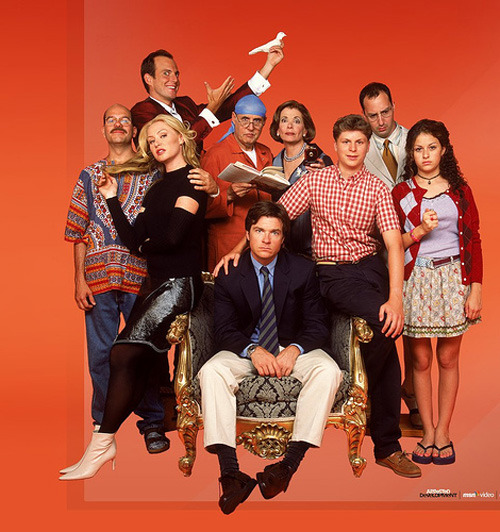 "Arrested Development gets new movie and TV show Fans of Arrested Development received two great pieces of news today: the long-discussed movie is happening and it will follow on from new TV episodes of the cult show!  Creator Mitchell Hurwitz says the TV show could film next summer and focus on the main characters' lives over the past five years.  While there's no shooting schedule yet for the movie, Hurwitz added that the ""creative aspects"" are in place and negotiations will hammer out ""the business side"".[FOR THE FULL STORY, CLICK ON THE BLUTH FAMILY OR FOLLOW THIS LINK]"